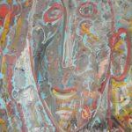 Alain Rothstein AUTOPORTRAIT, 2008, huile sur toile, 61x46cm