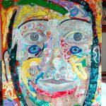 Alain Rothstein Charlotte de Werther, 2015, huile sur toile, 100x81 cm : 10'000 euro