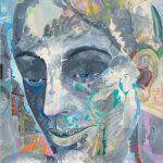 Alain Rothstein INTROSPECTION, 2012, huile sur toile, 73x50cm