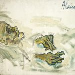 Alain Rothstein la mort s'installe, 1971, huile sur toile