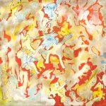 Alain Rothstein, La ronde du centaure , 1996, huile sur toile, 90x90cm