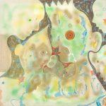 Alain Rothstein, Murmure, 1996, huile sur toile, 90x90cm