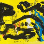 Alain Rothstein SUR LE LAC DE TIBERIADE, 2010, huile sur toile, 38x55cm : 4'000 euros.
