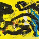 Alain Rothstein SUR LE LAC DE TIBERIADE, 2010, huile sur toile, 38x55cm : 4'200 euros.
