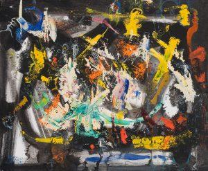 Alain Rothstein SYMPHONIE FANTASTIQUE, 2013, huile sur toile, 54x65cm : 5'000 euros.