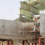 Team Industry - chantier naval, Maroc. Construction d'un grand multicoque : le Kéréon 78'