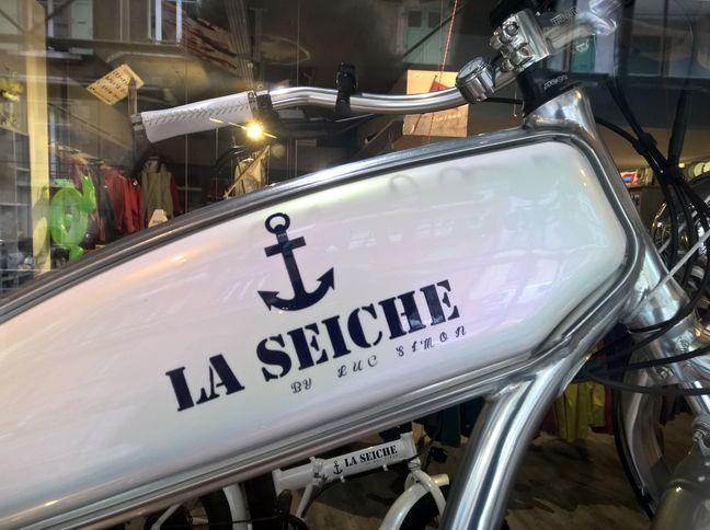 Vélos électriques Wattitude griffés La seiche by luc simon
