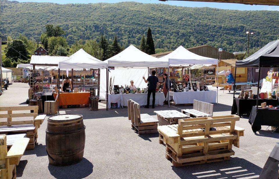 Artisanat Au marché nocturne des créateurs, mai 2021 à La seiche, Sevrier, Haute-Savoie