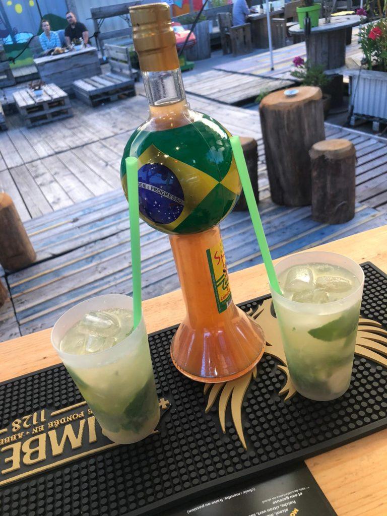 Cocktail de L'Atmosphère - bar du marché de la Seiche à Sevrier, Lac d'Annecy