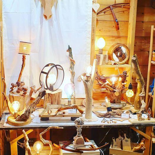 Coppo Wood au Marché de la Seiche atelier des créateurs, artisanat à Sevrier