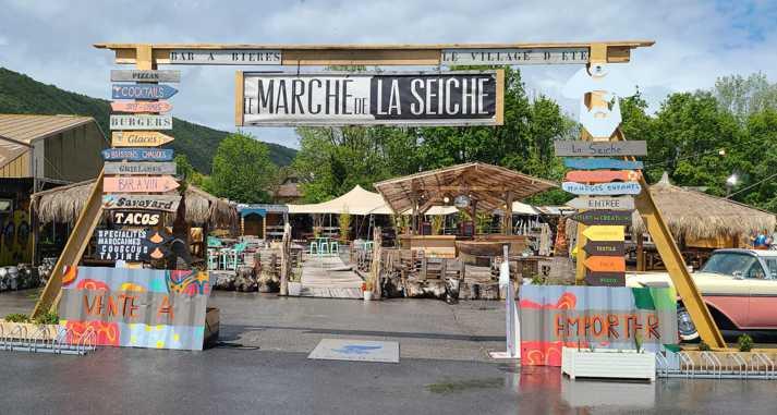 Le Marché de la Seiche - Bar, restaurant, loisir, artisanat, Sevrier, Lac d'Annecy