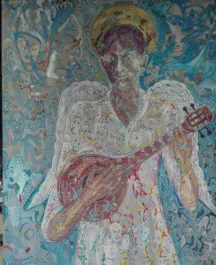 Alain Rothstein ANGE À LA MANDOLINE, 2014, 100×80 cm : 10'000 euros