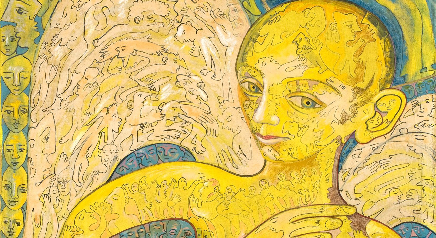 Alain Rothstein Ange déchu (zoom)
