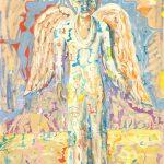 Alain Rothstein Ange Melchior, 1990, huile sur toile, 103x90cm : 13'000 euros.