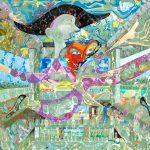 Alain Rothstein, arts visuels et peinture - oeuvres sur toiles de la série verte