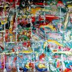 Alain Rothstein CONNECTEZ-VOUS LES UNS LES AUTRES, 2015, huile sur toile, 100×81 cm