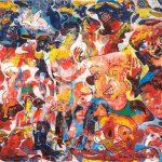 Alain Rothstein ÉCLIPSE, 2011, huile sur toile, 46x65cm : 4'500 euros.