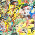Alain Rothstein FÊTE AU GRENOUILLET, 2014, huile sur toile, 65x92cm : 7'000 euros