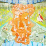 Alain Rothstein GRAND RUE-SUZE, 2011, huile sur toile, 46x61cm : 4'300 euros.