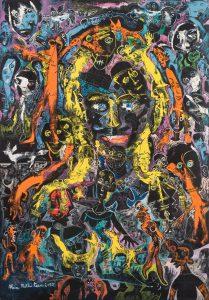 Alain Rothstein LA GROGNONDE, 2013, huile sur toile, 116x81cm : 8'000 euros.