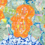 Alain Rothstein LA TRANSPARENCE EST L'OBSTACLE, 2011, huile sur toile, 46x61