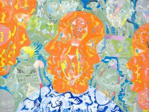 Alain Rothstein LA TRANSPARENCE EST L'OBSTACLE, 2011, huile sur toile, 46x61 : 4'300 euros.