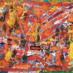 Alain Rothstein Le centre est partout, 2008, huile sur toile, 60x73cm : 6'500 euros.