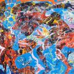 Alain Rothstein LO SCHIAFFO LA GIFLE, 2011, huile sur toile, 89x116cm : 10'000 euros