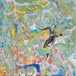Alain Rothstein MAESTRO - CHEF D'ORCHESTRE, 2012, huile sur toile, 40x40cm