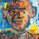 Alain Rothstein OTELLO, 2009, huile sur toile, 61x46cm : 4'300 euros.