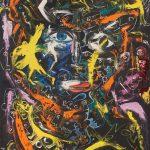 Alain Rothstein Portrait de Femme, 2013, huile sur toile, 120x80cm