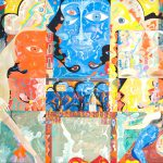 Alain Rothstein QUERELLE, 2013, huile sur toile, 130x162cm