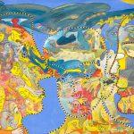 Alain Rothstein, Sans titre, huile sur toile, 81x117cm