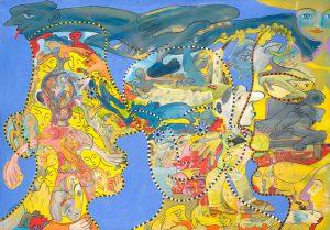 Alain Rothstein Sans titre, huile sur toile, 81x117cm : 10'000 euros