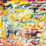 Alain Rothstein SARABANDE, 2011, huile sur toile, 89x116cm
