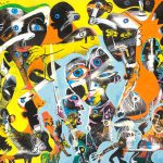 Alain Rothstein Sunset, 2014, huile sur toile, 54x65cm : 5'000 euros