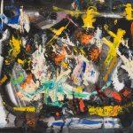Alain Rothstein, arts visuels et peinture - oeuvres sur toiles de la série noire