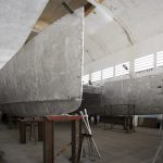 Team Industry - chantier naval, Maroc. Construction d'un grand multicoque : l'Arkona 67'