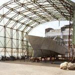 Team Industry - chantier naval, Maroc. Construction d'un grand monocoque : le Montara 68
