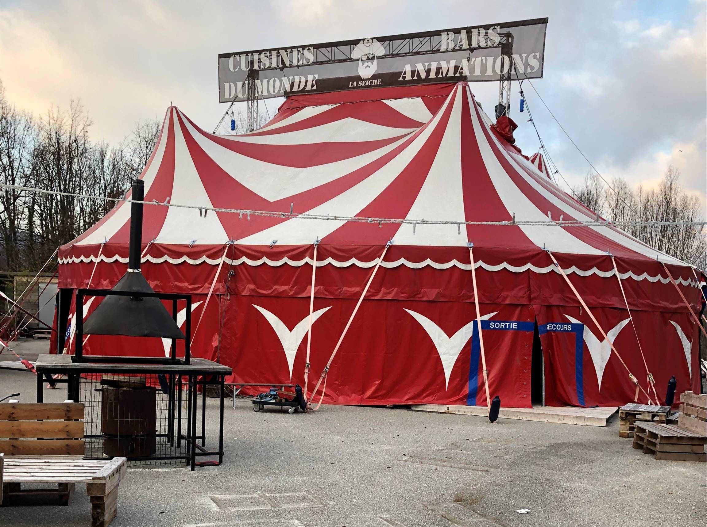 Chapiteau de cirque à Vendre – 18'000 €
