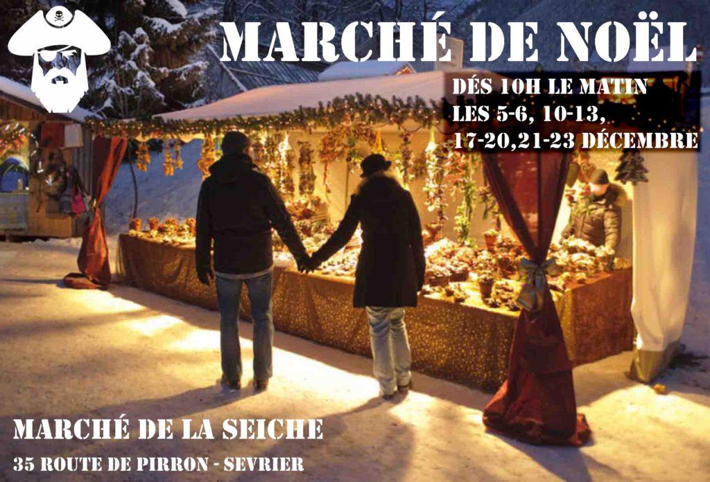 Flyr Marché de noël - La seiche - Sévrier - Annecy - décembre 2020