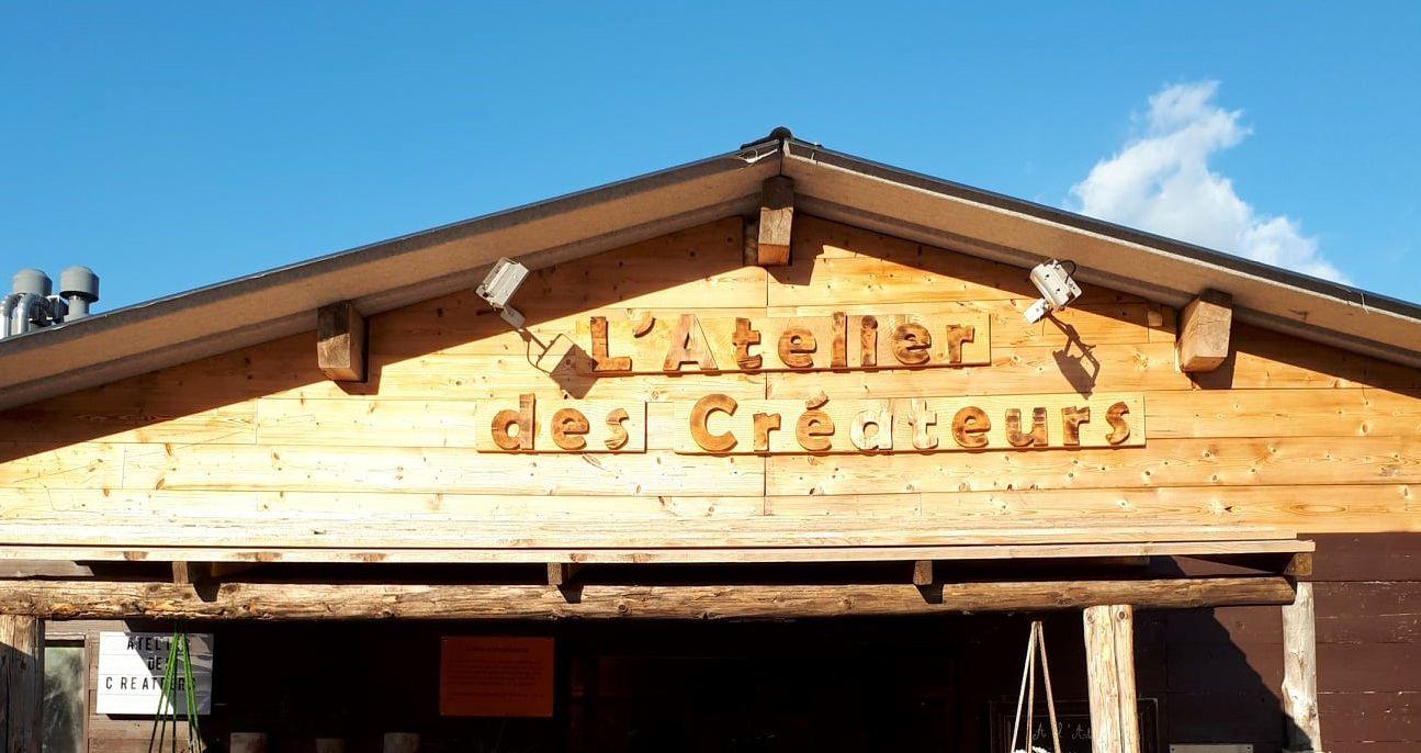 l'Atelier des créateurs - marché de la Seiche - Sevrier, lac Annecy