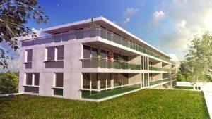 Le pôle immobilier de Pronaval comportera un complexe immobilier sur un terrain de 2.370 m² : la Villa CORSIER