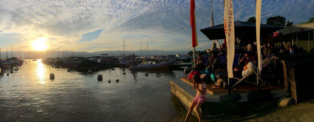 marina de la Belotte - bar terrasse Le Ponton