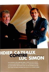 Pages de Yacht Mai 2007 Interviewe Cazeaux vs Simon photo