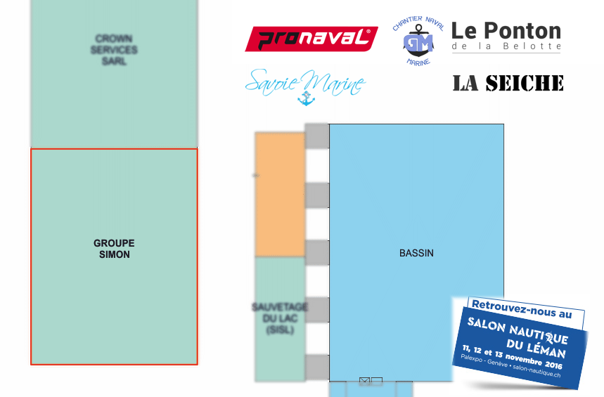 Groupe simon gen ve salon nautique du l man 2016 groupe for Salon nautique geneve
