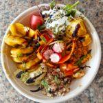 Poke bowl - le Savoyméricain. marché de la Seiche, Sevrier