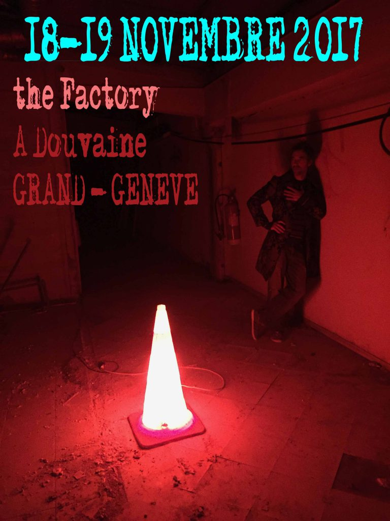 Save the date : 18 - 19 novembre. The factory, Douvaine
